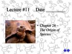 Lecture #11     Date ________