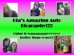 Gia's Amazing Auto Biography!!!!