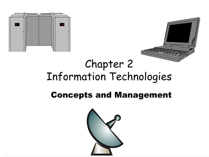chapter 2 information technologies n.