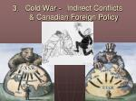 Cold War -	Indirect Conflicts & Canadian Foreign Policy