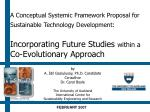 by A. İdil Gaziulusoy, Ph.D. Candidate Co-author Dr. Carol Boyle The University of Auckland