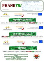 Application Guideline about the m ethods applied during the PHANE TRI project