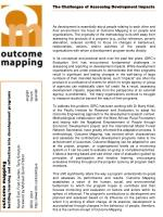 The Challenges of Assessing Development Impacts