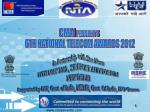 CMAI  PRESENTS  6TH NATIONAL TELECOM AWARDS 2012