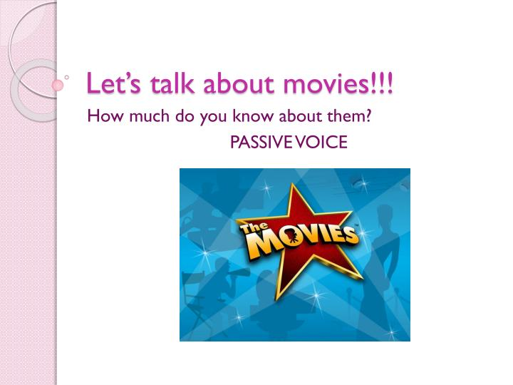 let s talk about movies n.
