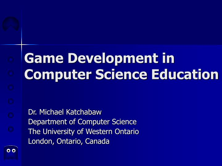game development in computer science education n.