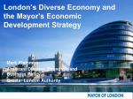 London's Diverse Economy and the Mayor's Economic Development Strategy