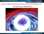 Neutron Star Fundamental Physics with Constellation-X