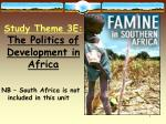 NB – South Africa is not included in this unit