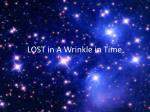 LOST in A Wrinkle in Time