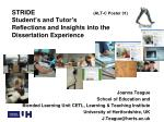 Joanna Teague School of Education and Blended Learning Unit CETL, Learning & Teaching Institute