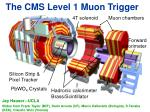 The CMS Level 1 Muon Trigger