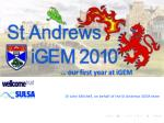 … our first year at iGEM
