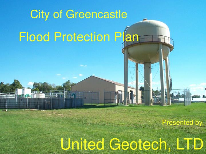 city of greencastle flood protection plan n.