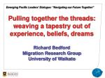 """Emerging Pacific Leaders' Dialogue: """"Navigating our Future Together"""""""