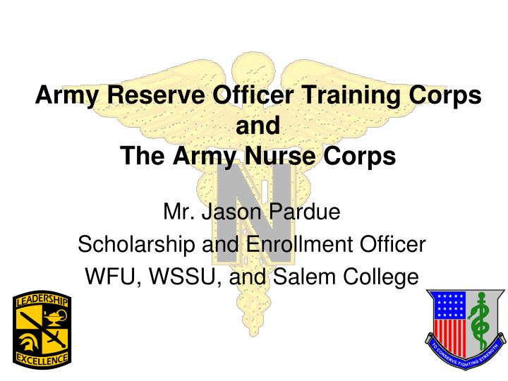 army reserve officer training corps and the army nurse corps n.