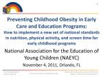National Resource Center for Health and Safety in Child Care and Early Education (NRC)