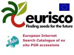 European Internet Search Catalogue of ex situ PGR accessions