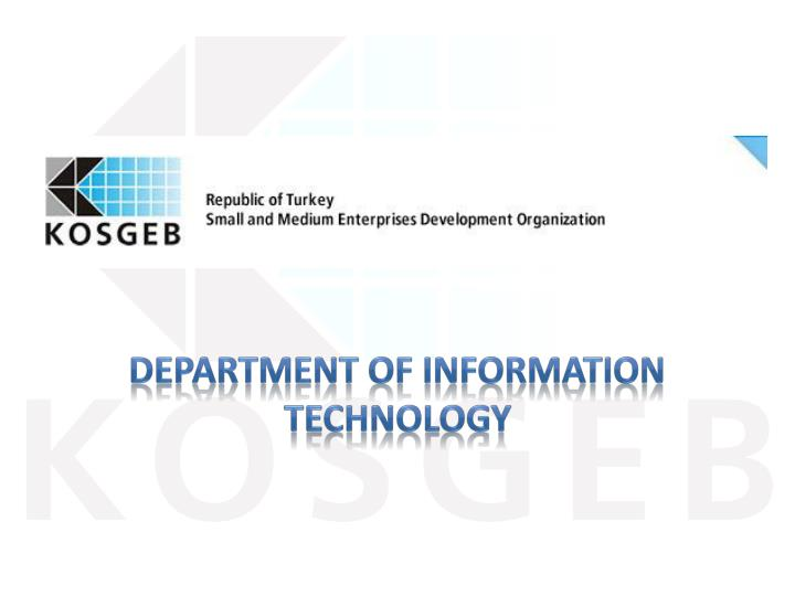 department of information technology n.