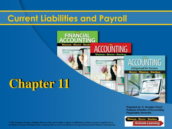 PPT Current Liabilities And Payroll PowerPoint