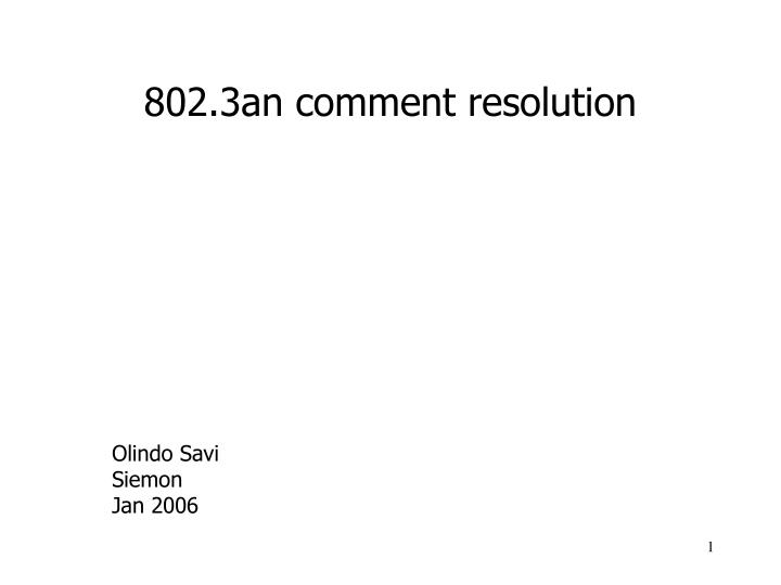 802 3an comment resolution n.