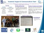 Academic Support & Communications Team