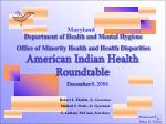 American Indian Health Roundtable