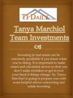 Team Investments Tanya Marchiol