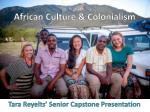 African Culture & Colonialism