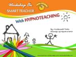With HYPNOTEACHING