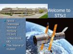 "Space Telescope Science Institute (STScI) 	in Baltimore, MD The ""Home of Hubble"""
