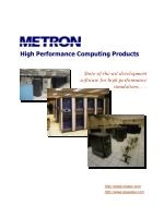High Performance Computing Products