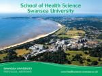 Research in Mental Health at Swansea University