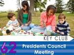 Presidents Council Meeting