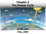 Chapter 2 The Energy Cycle