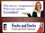 Best Credit company for All-Get Started for Free at Fowleran