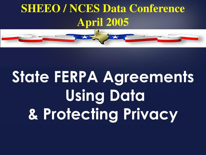 state ferpa agreements using data protecting privacy n.