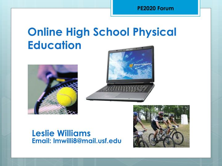online high school physical education n.