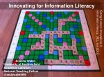 Innovating for Information Literacy