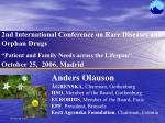 2nd International Conference on Rare Diseases and Orphan Drugs