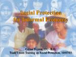 ILO objective on Social Protection