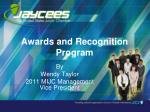 Awards and Recognition Program