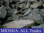 MIOSHA: ALL Trades