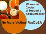Minnesota Circles of Support & Accountability