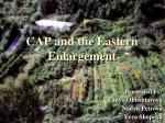 CAP and the Eastern Enlargement