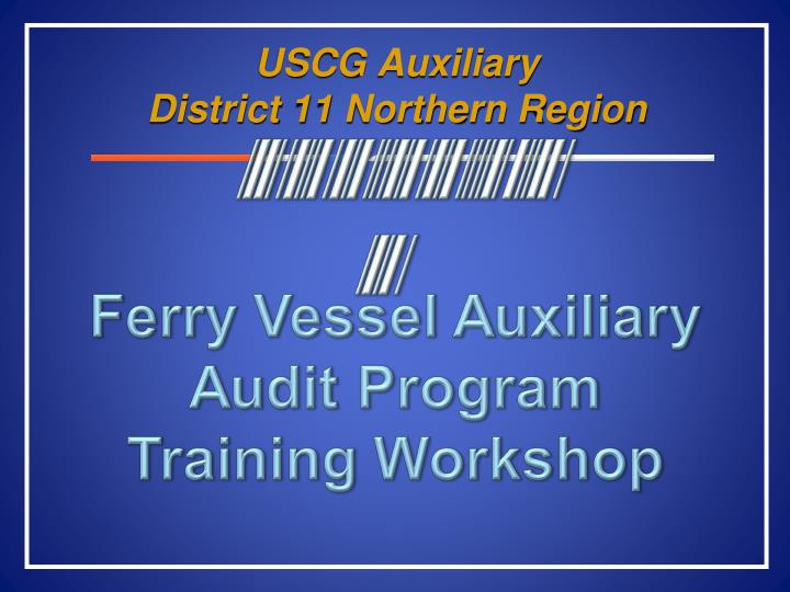 uscg auxiliary district 11 northern region n.