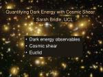 Quantifying Dark Energy with Cosmic Shear