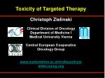 Impact of Anti-EGFR Therapy