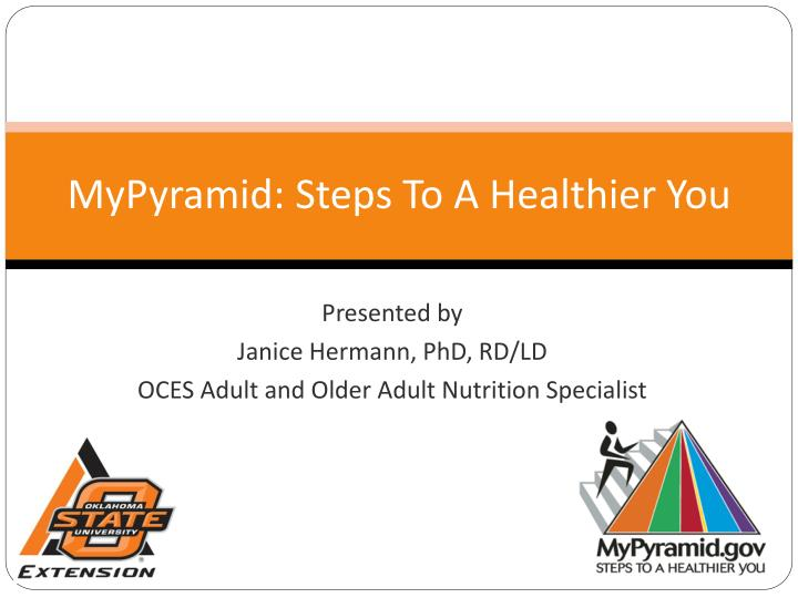 mypyramid steps to a healthier you n.