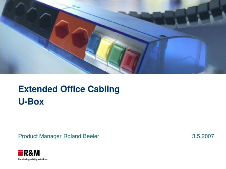 extended office cabling u box n.